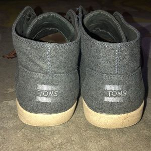 Toms men's shoes in heather grey